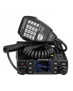 Retevis RT95 Mobile Car Two Way Radio Station Dual Band VHF UHF Amateur CHIRP Transceiver + Mic
