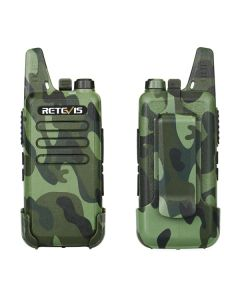RETEVIS RT22 Handy Walkie Talkie Mini FRS VOX USB Charge UHF Two Way Radio Comunicador Transceiver