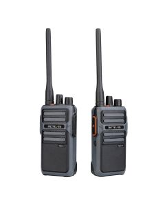 2PCS Retevis RB17 walkie-talkie hand station large capacity 4400mAh battery Type-C charging